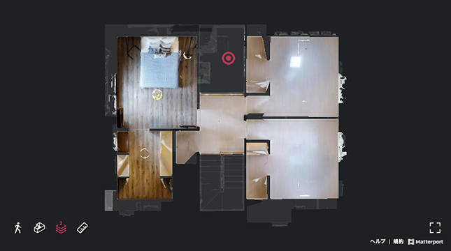 フロアプラン 二階