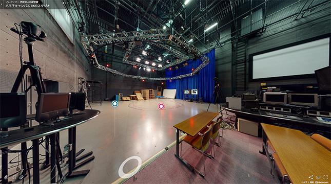 DMCスタジオ(デジタル・モーションキャプチャリング・スタジオ)