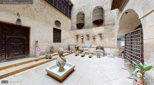 もう一つの中庭の噴水