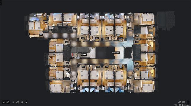 Floor Map 5階フロアマップ