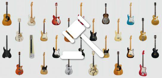 The David Gilmour Guitar Collection